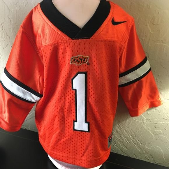premium selection 029a6 f7c23 OSU Cowboy football jersey by Nike new #1 Sz 3/6mo